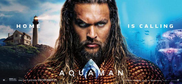 【アクアマン】セクシーで野性的な俳優ジェイソン・モモアと幻想的なCGに大満足